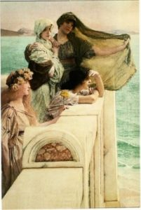 ALMA-TADEMA AT APHRODITE`S CRADLE 560 x 380 x 10 mm