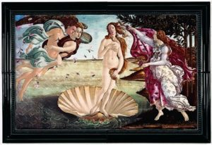 BOTTICELLI BIRTH OF VENUS 360 x 560 x 10 mm