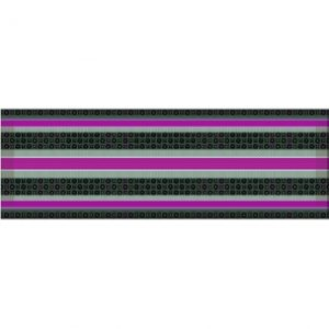 Decor Lines Wellness purple 15x45