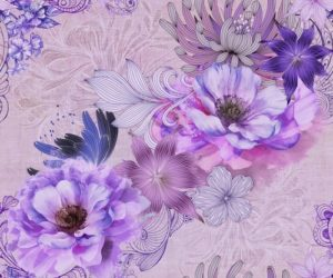 Decor 2 Bouquet Valpolicella Lavanda 25x60