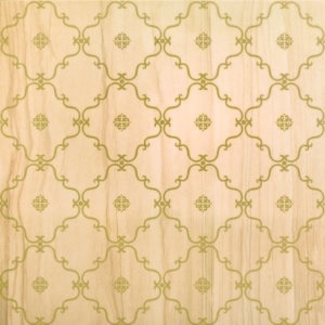 Gold Decoro Tappeto 60x60